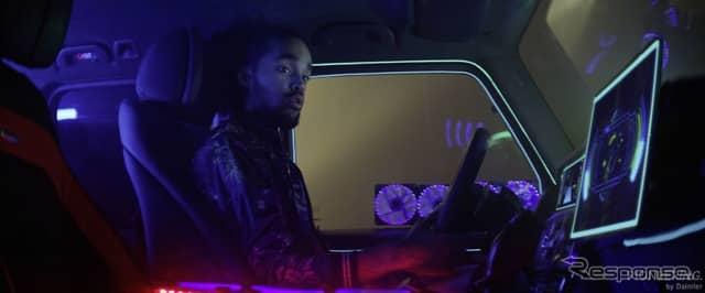 メルセデスベンツがアイデアを募集する車載インフォでプレイするゲームのイメージ