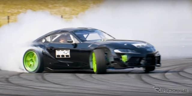 トヨタ・スープラ 新型のD1グランプリ参戦マシン