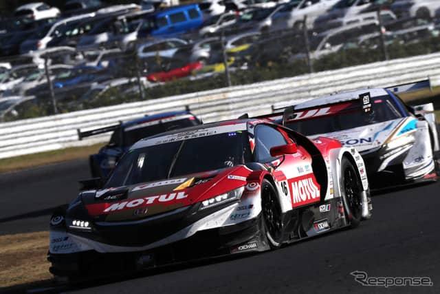 SUPER GT/GT500の2019年参戦車両:TEAM MUGENの「MOTUL MUGEN NSX-GT」