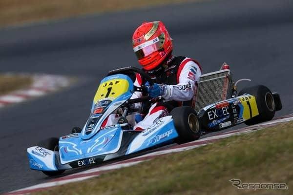 全日本カート選手権OK部門のシリーズチャンピオン獲得車両(2018年)