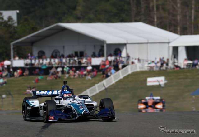 #30 佐藤琢磨はレースを支配して勝利した。《写真提供 INDYCAR》