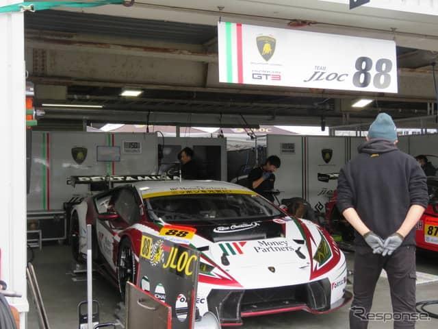 #88 ランボルギーニ(GT300クラス)《撮影 遠藤俊幸》