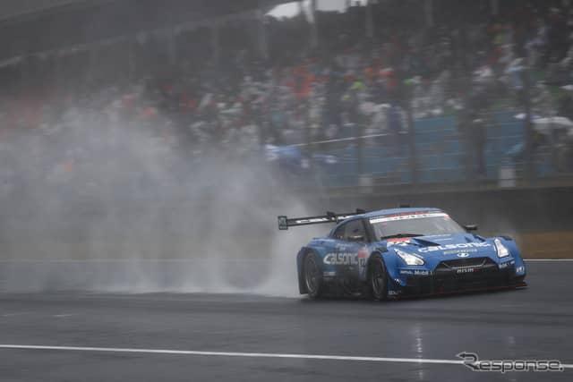 決勝3位の#12 GT-R。《撮影 益田和久》