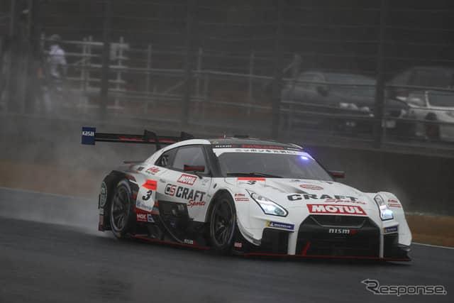 決勝4位の#3 GT-R。《撮影 益田和久》