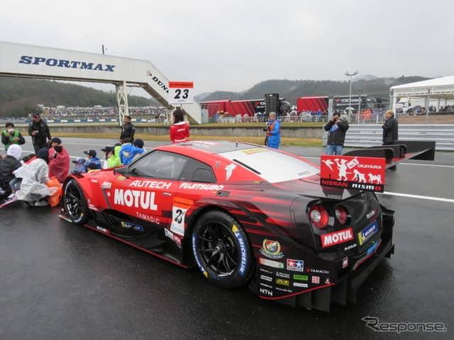 決勝2位となる#23 GT-R。《撮影 遠藤俊幸》