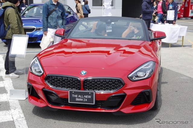 BMW Z4 新型(モーターファンフェスタ2019 in 富士スピードウェイ)《撮影 宮崎壮人》