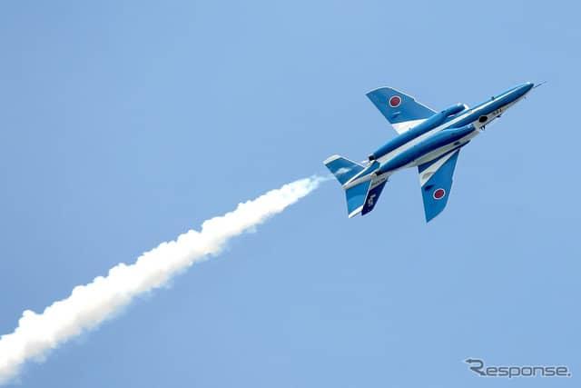 航空自衛隊ブルーインパルス(T-4)(c) Getty Images
