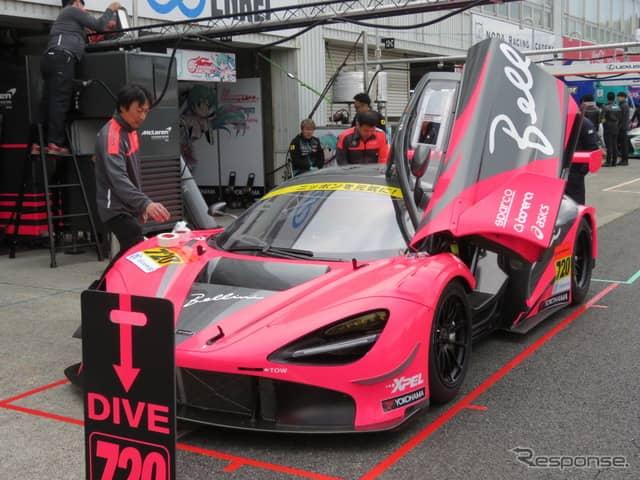 #720 マクラーレン720S GT3(4月の開幕戦岡山)《撮影 遠藤俊幸》