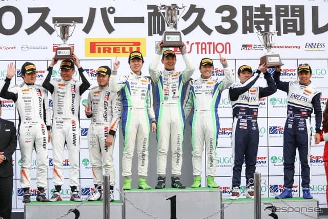 2019スーパー耐久第2戦 グループ2決勝《撮影 益田和久》