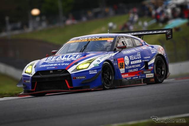 決勝4位の#56 GT-R。《撮影 益田和久》