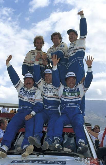 1992年:総合優勝