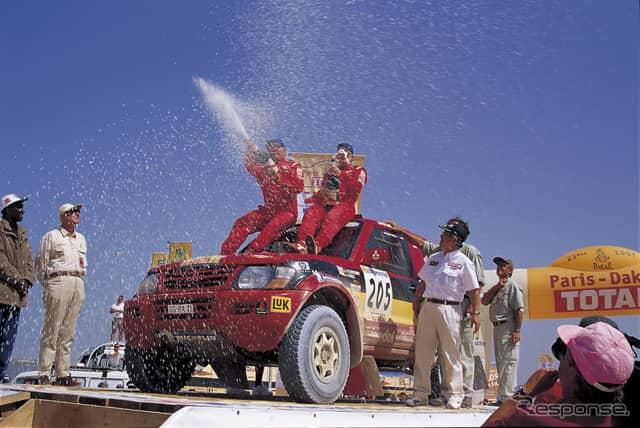 2001年:総合優勝