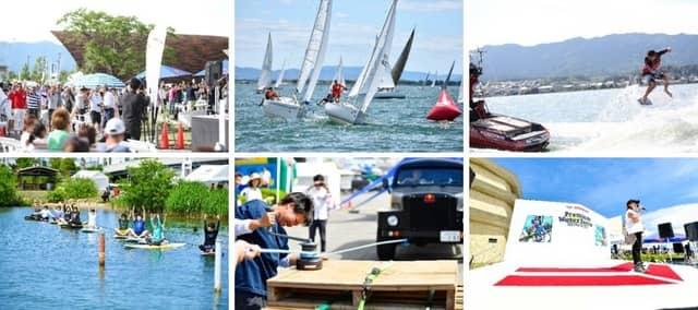 セーリング&ウェイクサーフィン大会「YANMAR PREMIUM WATER FESTA」開催