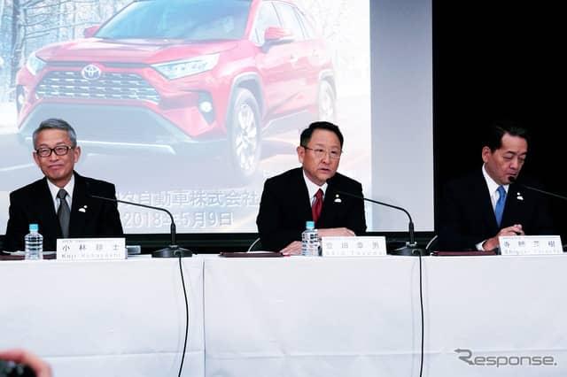 トヨタ自動車の決算説明会(5月8日)