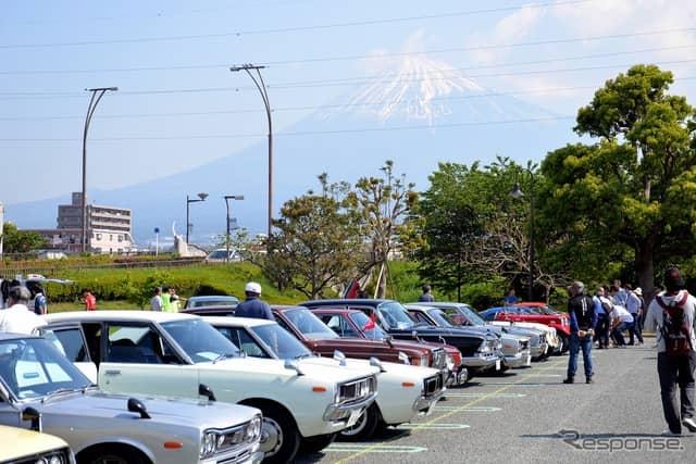 富士山オールドカーフェスタ2019《撮影 嶽宮三郎》