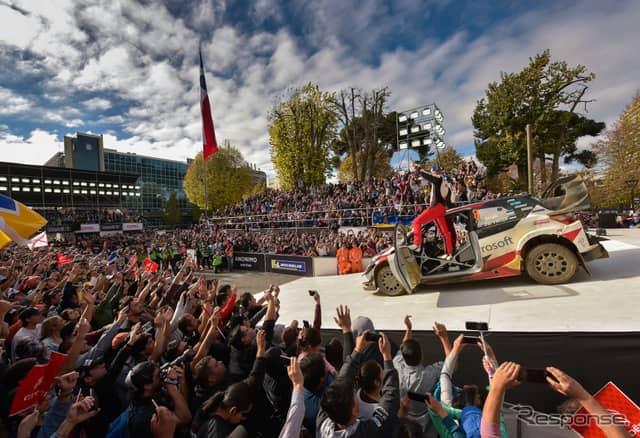 """初開催チリ戦を終え、""""WRCサーカス""""の次戦は欧州ポルトガル戦となる。《写真提供 TOYOTA》"""