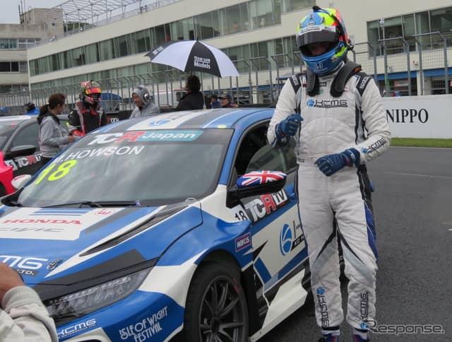 TCRジャパンのサタデー・シリーズ第1戦を制したのは、シビックに乗るM.ホーソン。《撮影 遠藤俊幸》