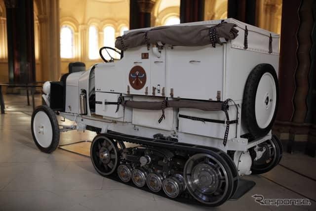 シトロエン・ハーフトラックB2 K1のレプリカ《photo by Citroen》