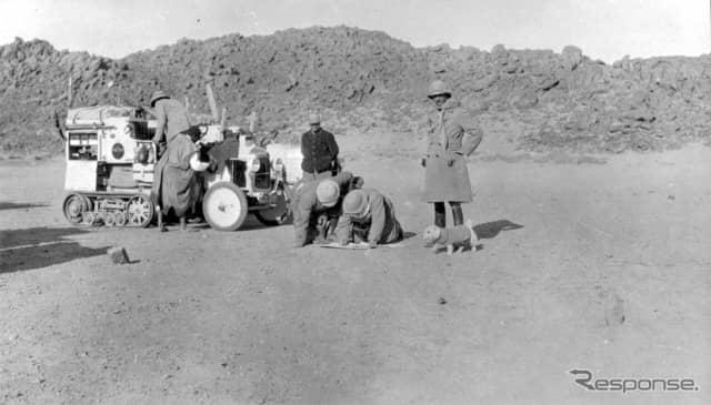 1922~23年のサハラ横断《photo by Citroen》