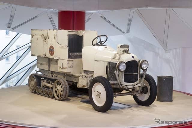 シトロエン・ハーフトラックB2 K1の保存車《photo by Citroen》