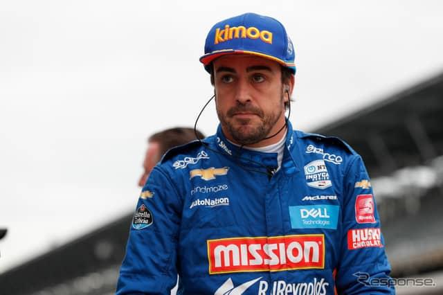 世界3大レース制覇達成は来年以降となったアロンソ。《写真提供 INDYCAR》