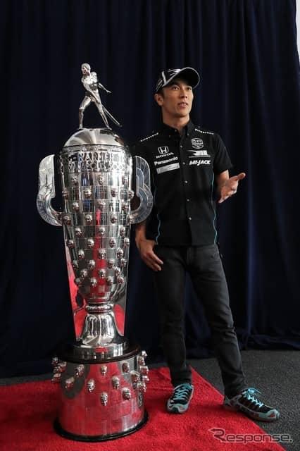 2年ぶり2度目の優勝を目指す佐藤琢磨。