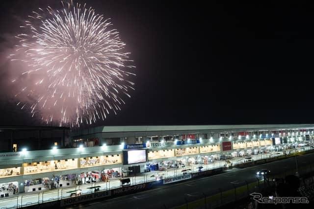 写真は2018年のスーパー耐久シリーズ 富士 SUPER TEC 24時間レースの様子