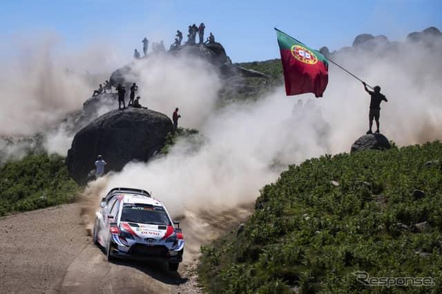 ポルトガル戦を終えたWRC、次の戦いはイタリアのサルディニア島だ(写真のマシンは#10 ラトバラ)。《写真提供 Red Bull》