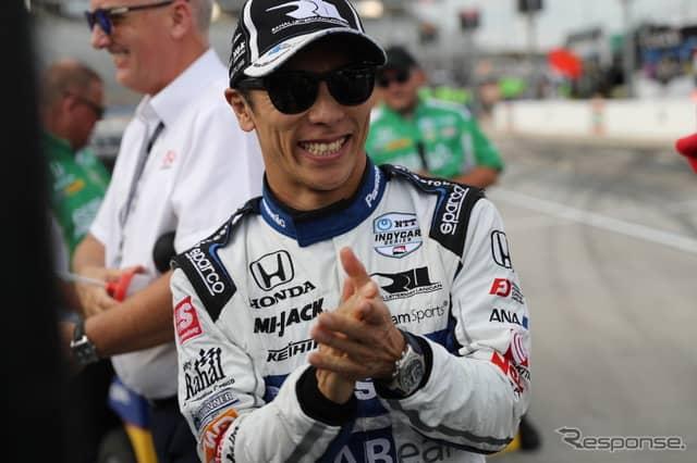 決勝レースでの好走も大いに期待される佐藤琢磨。《写真提供 INDYCAR》