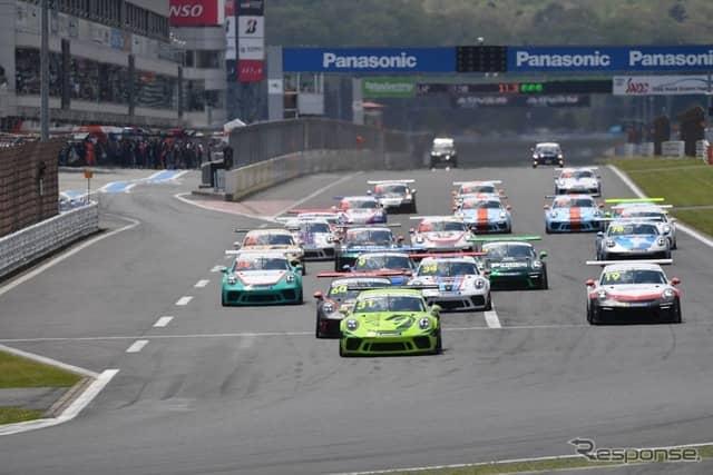 Porsche Carrera Cup Japan(参考画像)《写真 富士スピードウェイ》