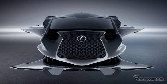 レクサスQZ618ギャラクティック・エンフォーサー《photo by Lexus》