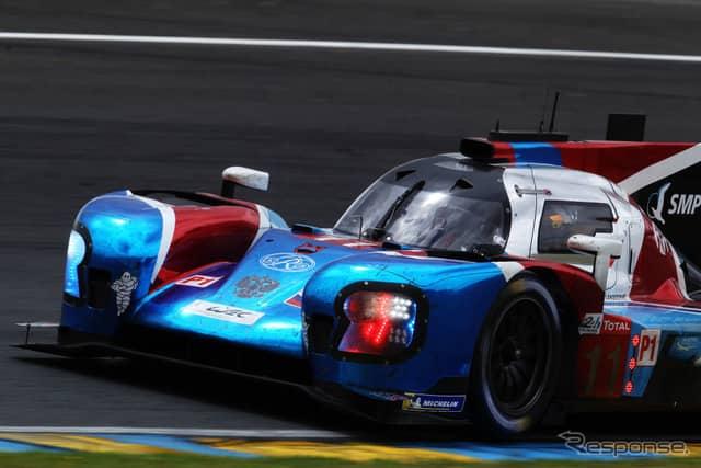 3位の#11 SMP Racing。《photo by Getty Images》