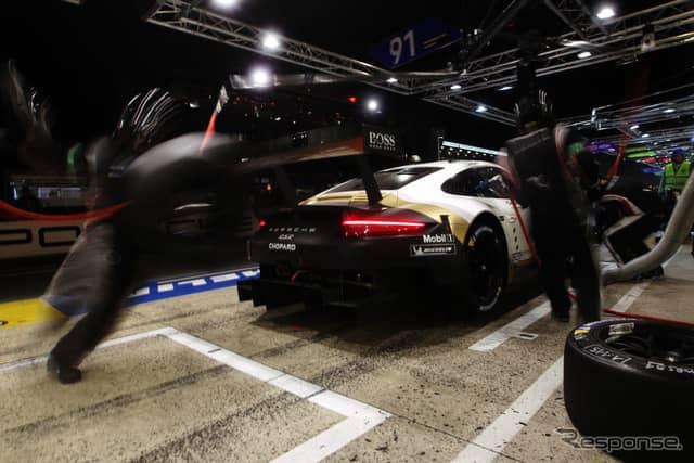 21位の#91 Porsche GT Team。《photo by Getty Images》