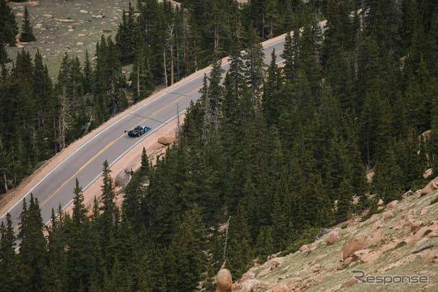 シュート(パイクスピーク2019)《photo by Pikes Peak International Hill Climb》