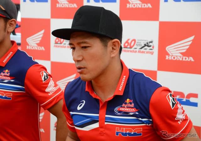 Red Bull Honda 清成龍一《撮影 伊藤英里》