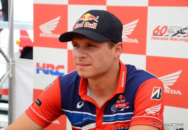 Red Bull Honda ステファン・ブラドル《撮影 伊藤英里》