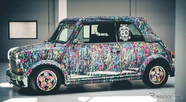 クラシックMiniのアートカー《photo by MINI》