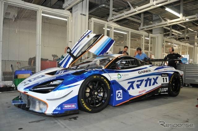 マクラーレン 720S GT3《写真 丹羽圭》
