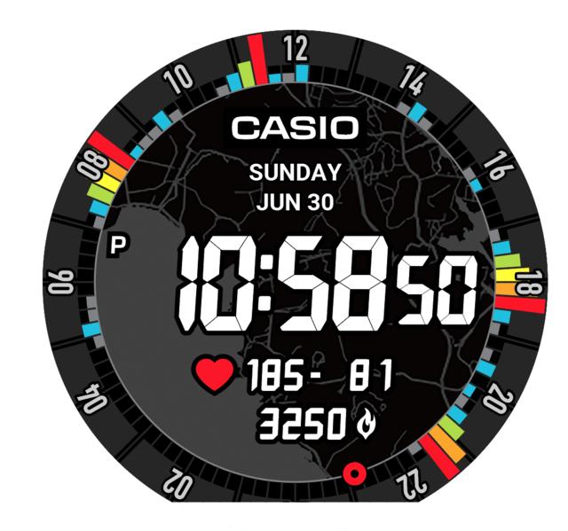 カシオ、ペース管理やトレーニングに活用できるPRO TREK Smart「WSD-F21HR」発売