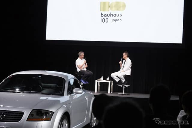 "Audi TT 20 years presents ""bauhaus 100 japan Talk Live""《写真 アウディジャパン》"