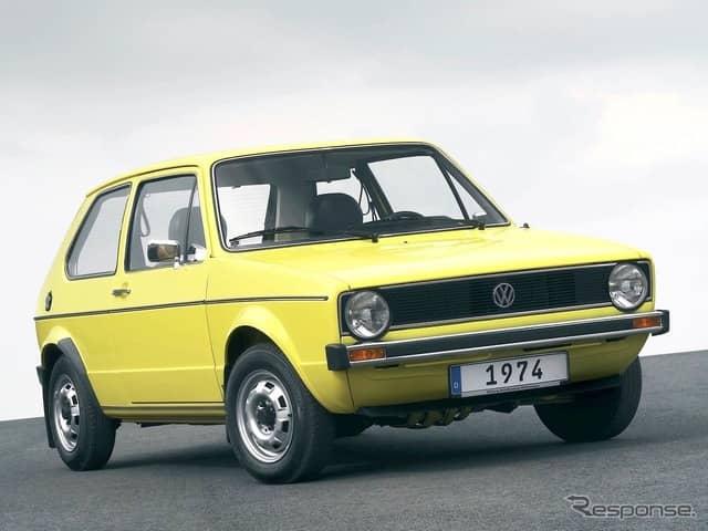 VWゴルフ初代《photo: Volkswagen》