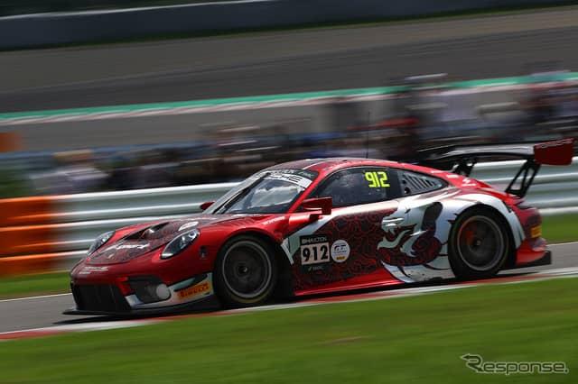 [鈴鹿10時間]5時間経過時点で2位の#912 Absolute Racing《Photo:Kazuhisa Masuda/撮影 益田和久》
