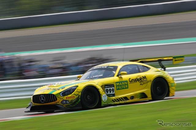 [鈴鹿10時間]5時間経過時点で5位の#999 Mercedes-AMG Team GruppeM Racing《Photo:Kazuhisa Masuda/撮影 益田和久》