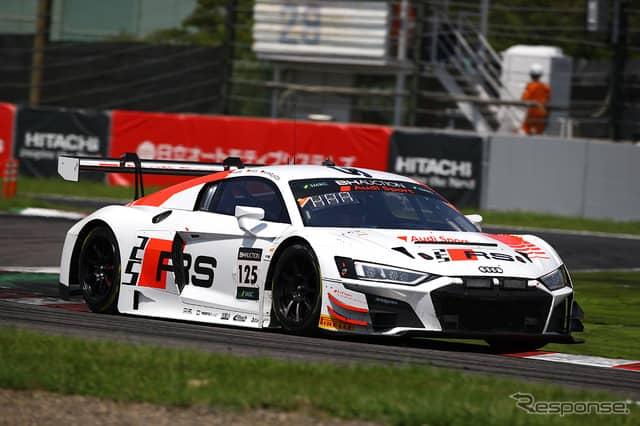 [鈴鹿10時間]5時間経過時点で6位の#125 Audi Sport Team Absolute Racing《Photo:Kazuhisa Masuda/撮影 益田和久》