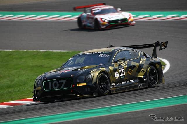 [鈴鹿10時間]5時間経過時点で10位の#107 Bentley Team M-Sport《Photo:Kazuhisa Masuda/撮影 益田和久》