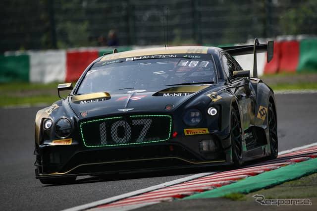 5番手の#107 Bentley Team M-Sport《Photo:Kazuhisa Masuda/撮影 益田和久》