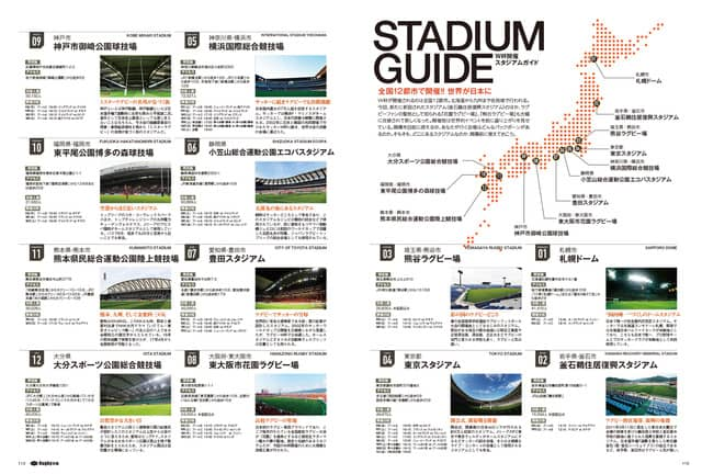 ワールドカップが楽しくなるラグビー日本代表パーフェクトガイド「Rugbyぴあ」発売