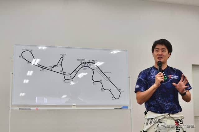 レーシングドライバー 山口 礼氏《撮影 後藤竜甫》