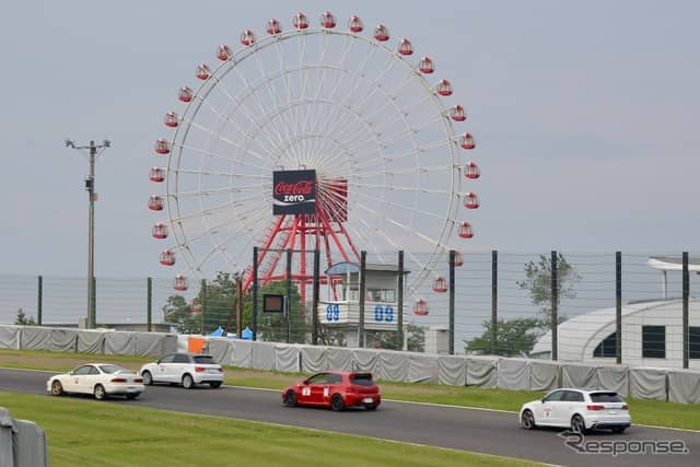 INNCELLプレゼンツ鈴鹿サーキット体験走行会《撮影 後藤竜甫》