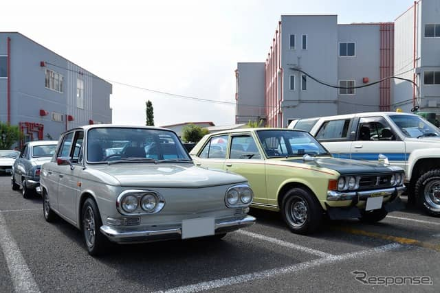 昭和平成クラシックカーフェスティバルin群馬自動車大学校《撮影 嶽宮三郎》